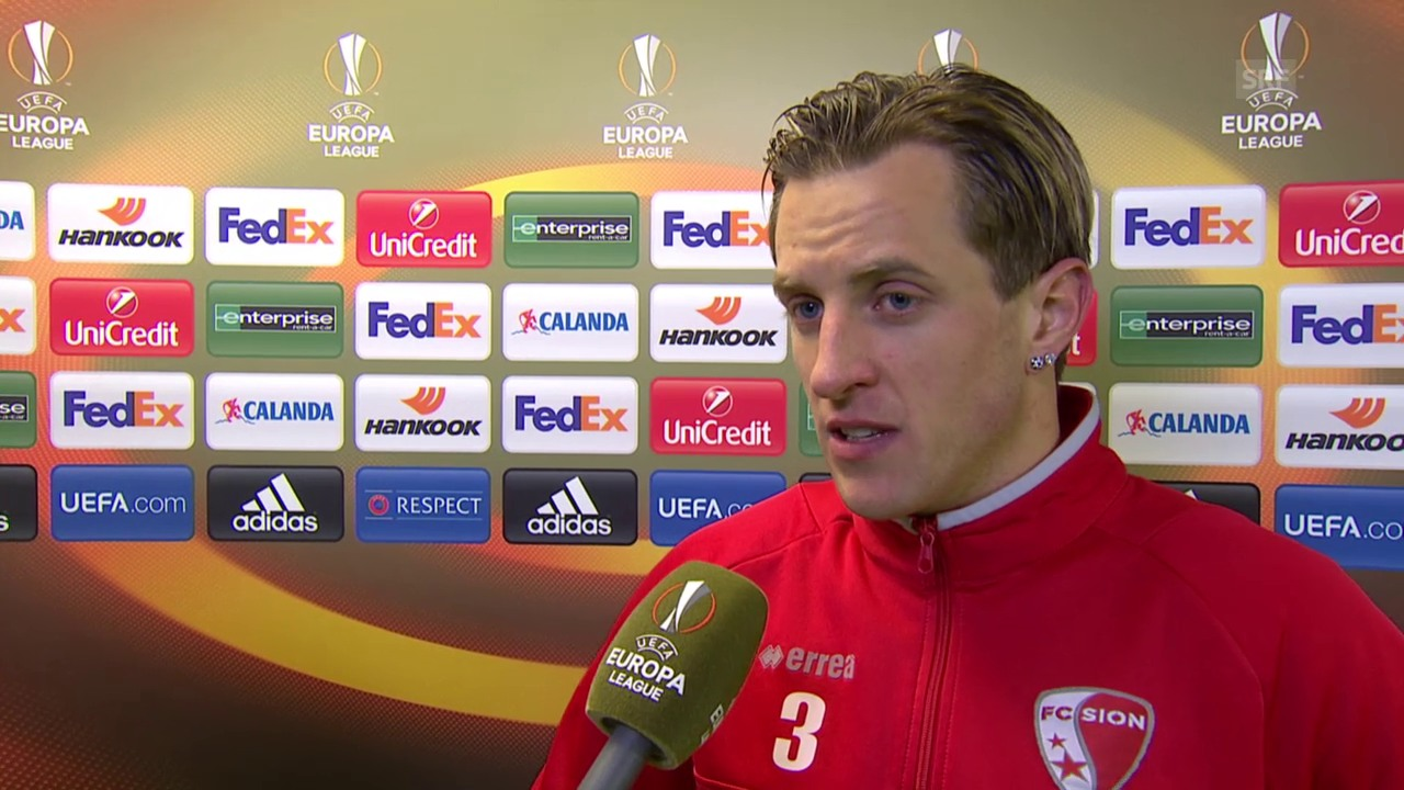 Fussball: Europa League, 6. Spieltag, Sion - Liverpool, Interview mit Reto Ziegler
