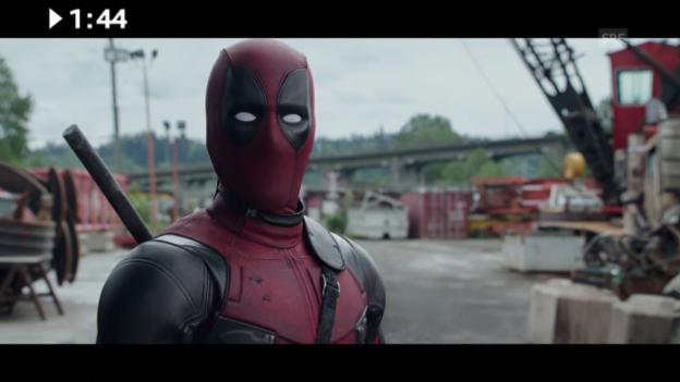 Video «Im Kino: «Deadpool»» abspielen
