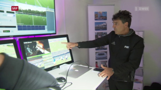 Video «Im Fussball soll der revolutionäre Videobeweis kommen» abspielen