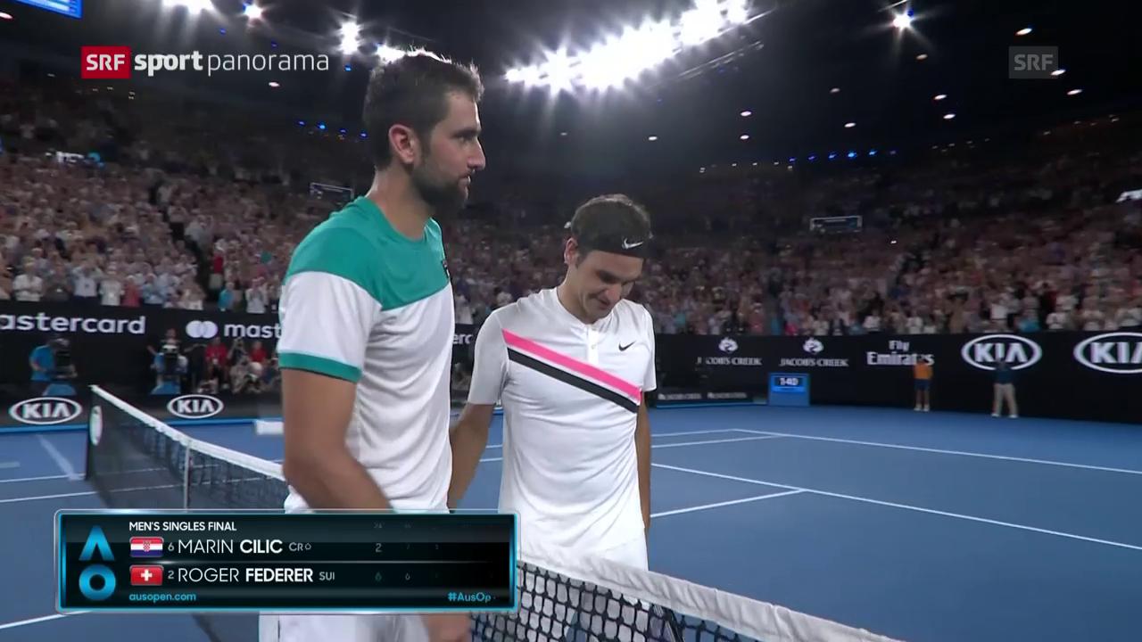 Federer siegt zum 6. Mal in Melbourne