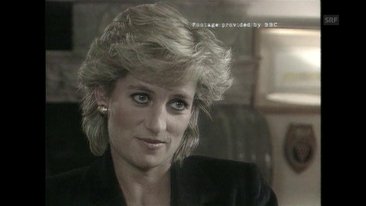 Dianas Skanal-Interview («10vor10», 1995)
