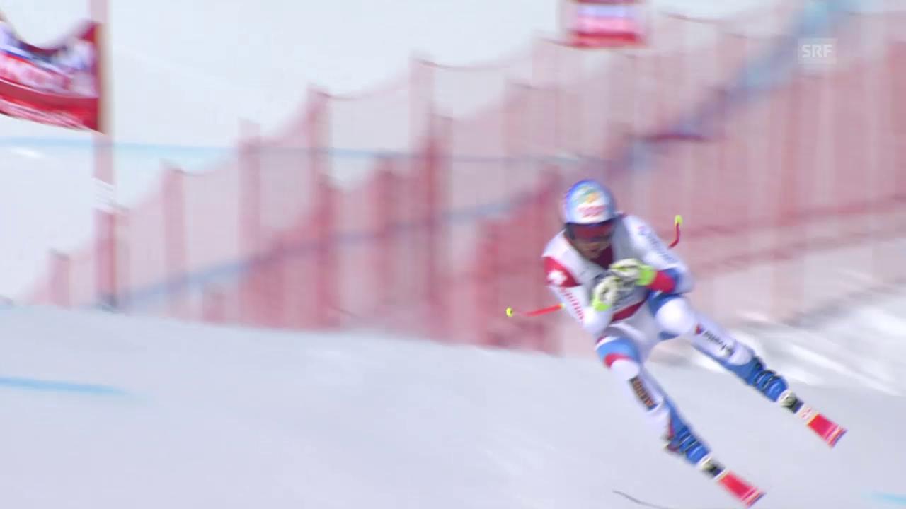 Ski alpin: Weltcup-Finale in Méribel, Männer-Abfahrt, Didier Défago