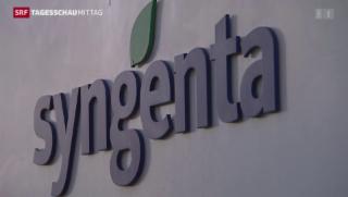 Video «Syngenta will nicht zu Monsanto» abspielen
