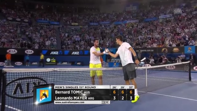 Highlights Tomic - Mayer
