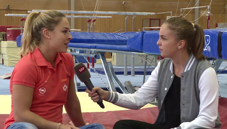 Giulia Steingruber im Talk mit Leana (14)