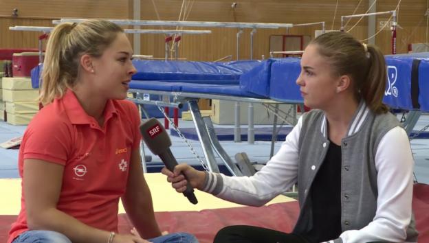 Video «Giulia Steingruber im Talk mit Leana (14)» abspielen