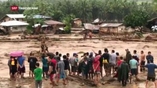 Video «Tropensturm auf Philippinen» abspielen