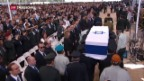 Video «Trauerfeier Schimon Peres» abspielen