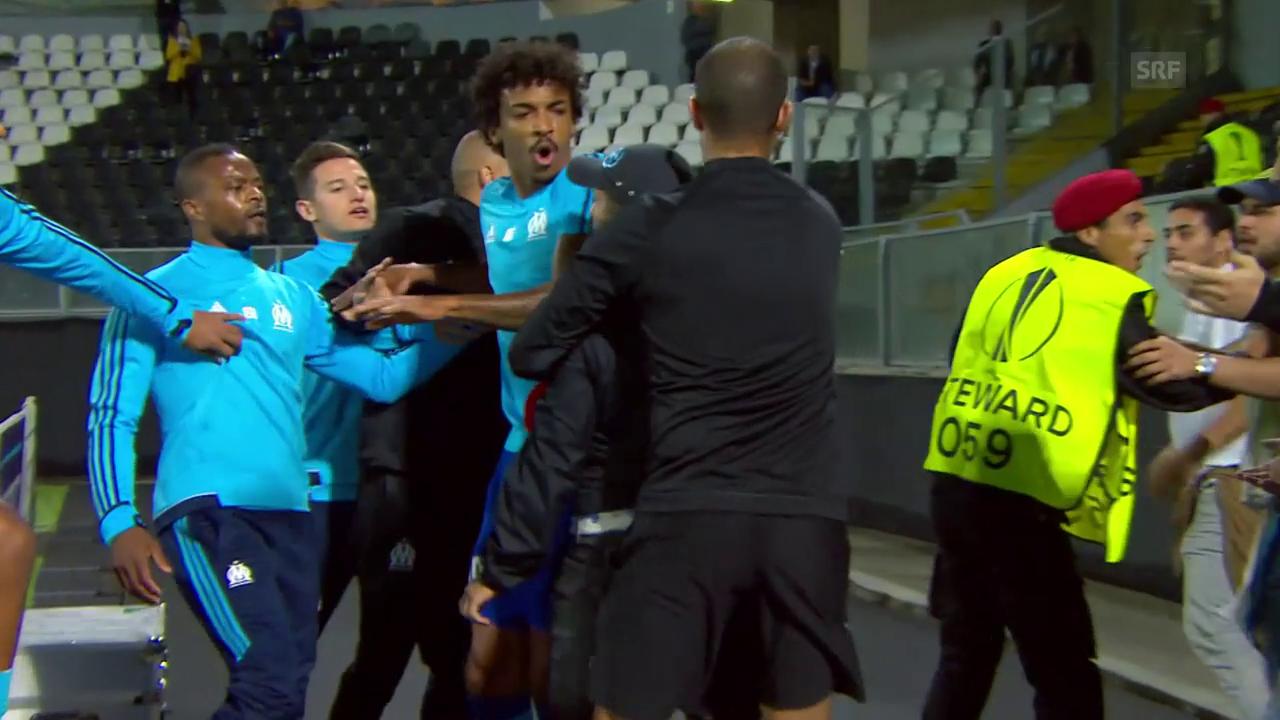 Marseilles Evra legt sich mit den eigenen Fans an