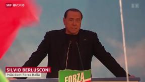 Video «Berlusconi aus dem Senat verbannt» abspielen