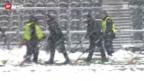 Video «SL: Absage des Spiels YB - Luzern» abspielen