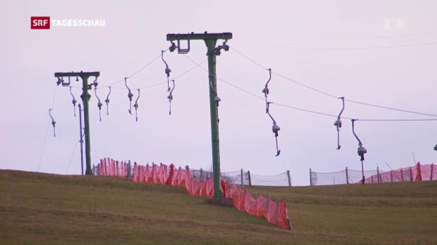 Video «Dorfskilifte ohne Schnee» abspielen