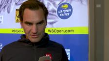 Link öffnet eine Lightbox. Video Federer: «Hut ab vor David Goffin» abspielen