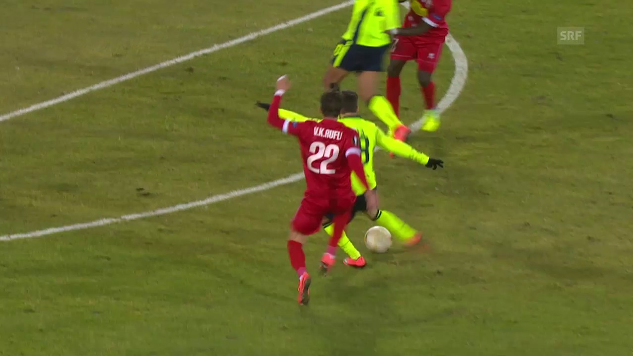 Rafa Silva zielt perfekt ins nahe Eck