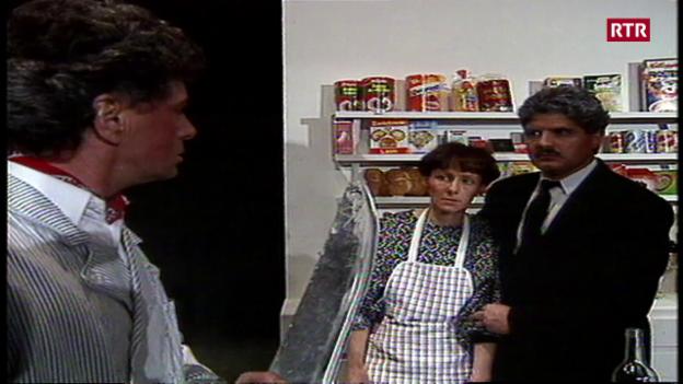 Laschar ir video «Telesguard 04-12-1993 / La viseta dalla signura veglia»