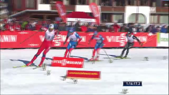Tour de Ski: Schlussphase der 4. Etappe