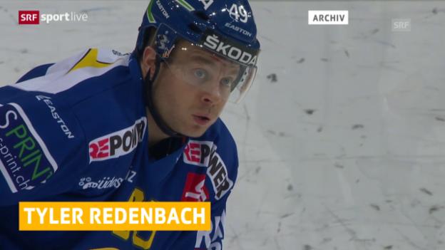 Video «Eishockey: Saisonende für Tyler Redenbach» abspielen