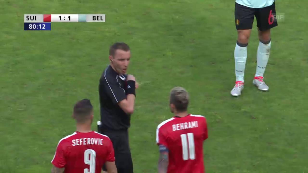 Seferovic sieht die rote Karte