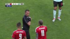 Video «Seferovic sieht die rote Karte» abspielen