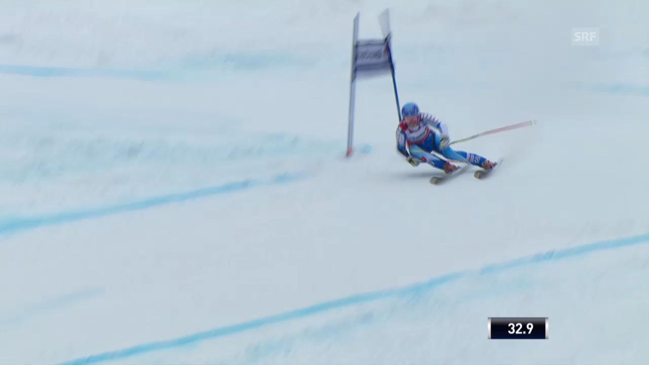 Ski Alpin: Riesenslalom auf der Lenzerheide, Die Fahrt von Jessica Lindell-Vikarby («sportlive», 16.03.2014)
