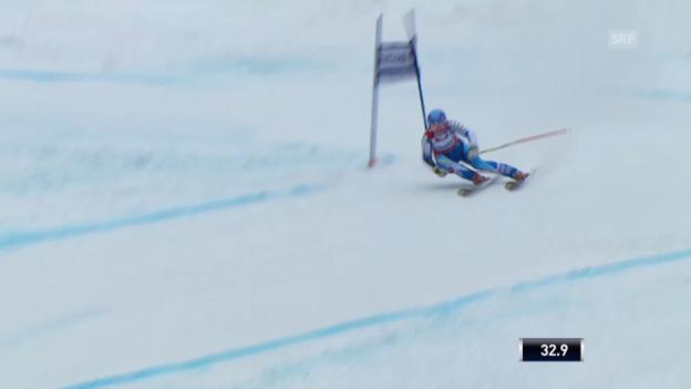 Video «Ski Alpin: Riesenslalom auf der Lenzerheide, Die Fahrt von Jessica Lindell-Vikarby («sportlive», 16.03.2014)» abspielen