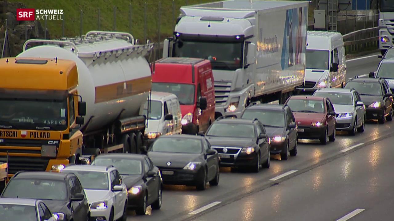 Falschfahrer verursacht Unfall auf A1