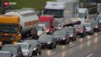 Video «Falschfahrer verursacht Unfall auf A1» abspielen