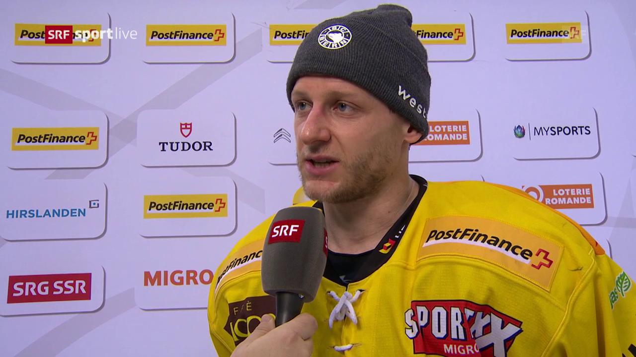 Doppeltorschütze Bodenmann im Interview