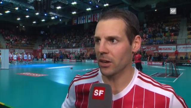 Unihockey-WM: Interviews nach Schweiz - Norwegen («sportlive»)