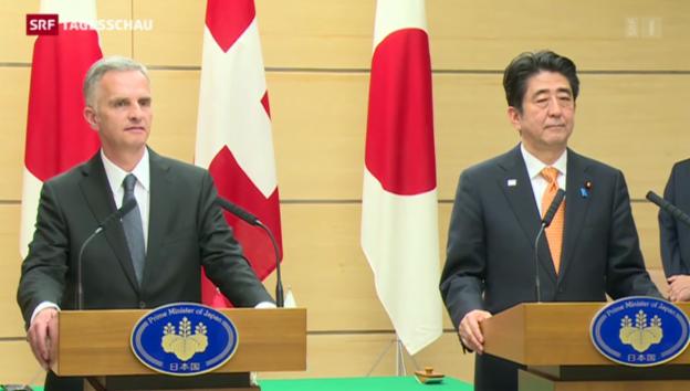 Video «Luftfahrtabkommen mit Japan» abspielen