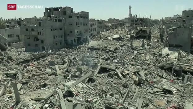 Video «Verhandlungen im Gaza-Konflikt» abspielen