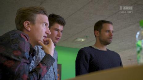 Video «#9 - Wie lustig ist es eigentlich, mit Stefan Büsser zusammenzuarbeiten?» abspielen