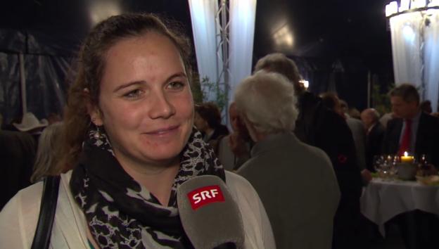 Video «Nadja Jnglin-Kamer: «Ich bin schwanger.»» abspielen
