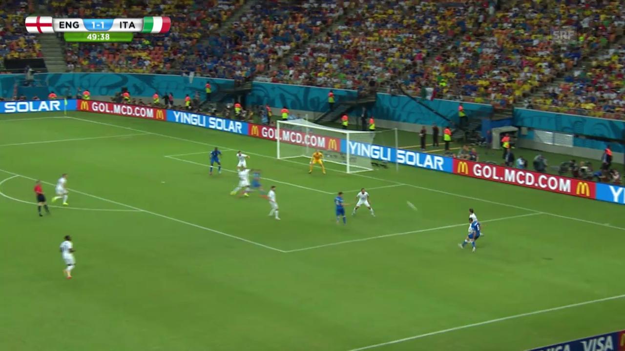 England - Italien: Beste Szenen von Pirlo, Balotelli und Candreva