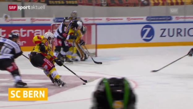 Video «Eishockey: Cup-Achtelfinal, Lugano - Bern, die Entscheidung» abspielen