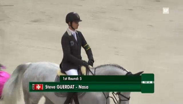 Top-Ten-Final: Steve Guerdats Ritt im 2. Umgang