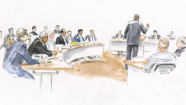 «Kronzeuge» im Gericht verhaftet