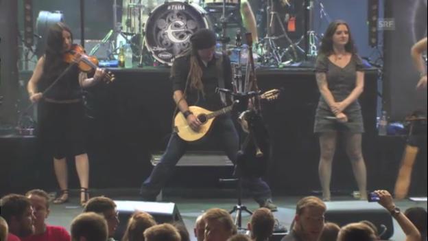 Video «Eluveitie - A Rose For Epona» abspielen