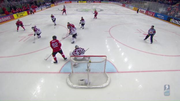 Video «Zusammenfassung Schweiz - Lettland» abspielen
