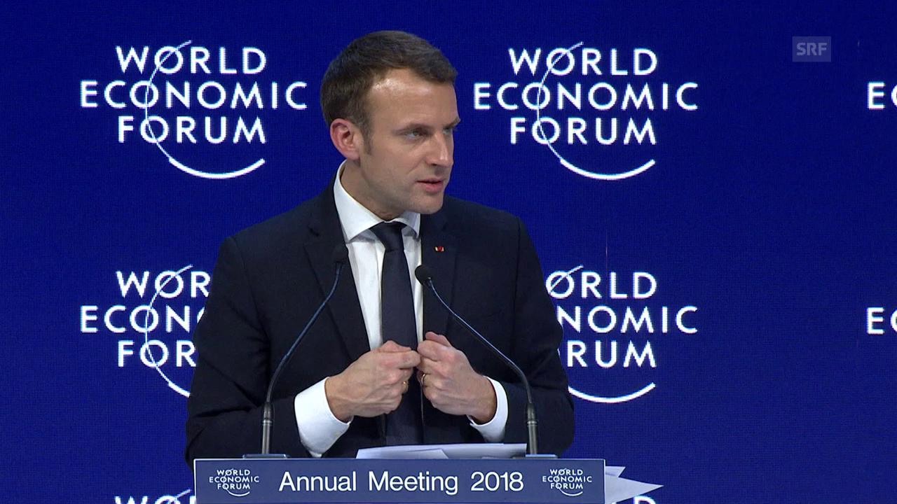 Macron fordert mehr Fairness bei der Globalisierung