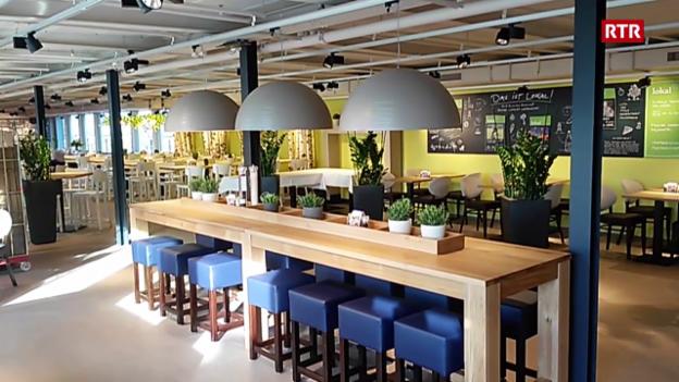 Laschar ir video «Il Manor ha in nov restaurant»