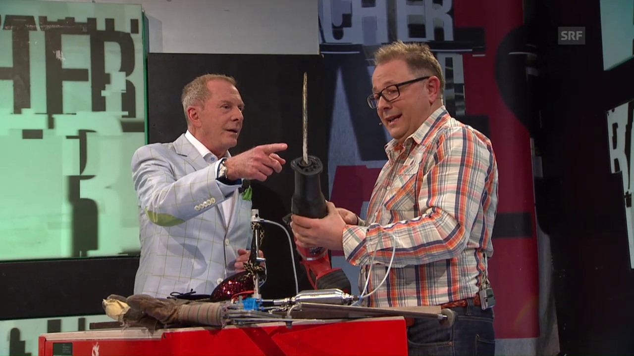 Zu Gast bei Aeschbacher: Stefan Heuss