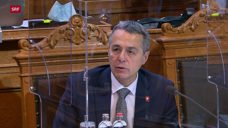 Ignazio Cassis: «Sachfremde politische Verknüpfungen lehnen wir ab»