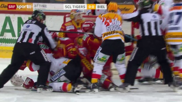 Video «Eishockey: NLA, SCL Tigers - Biel» abspielen