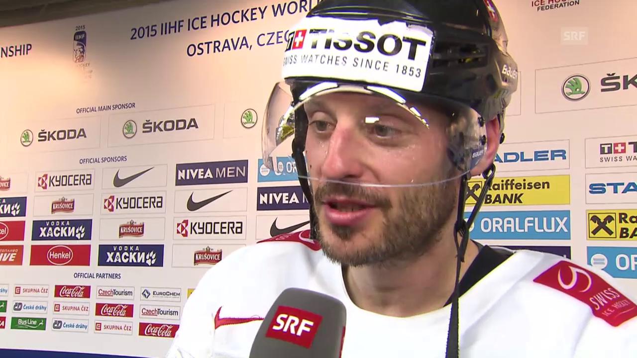 Eishockey: WM-Viertelfinal, Interview Streit