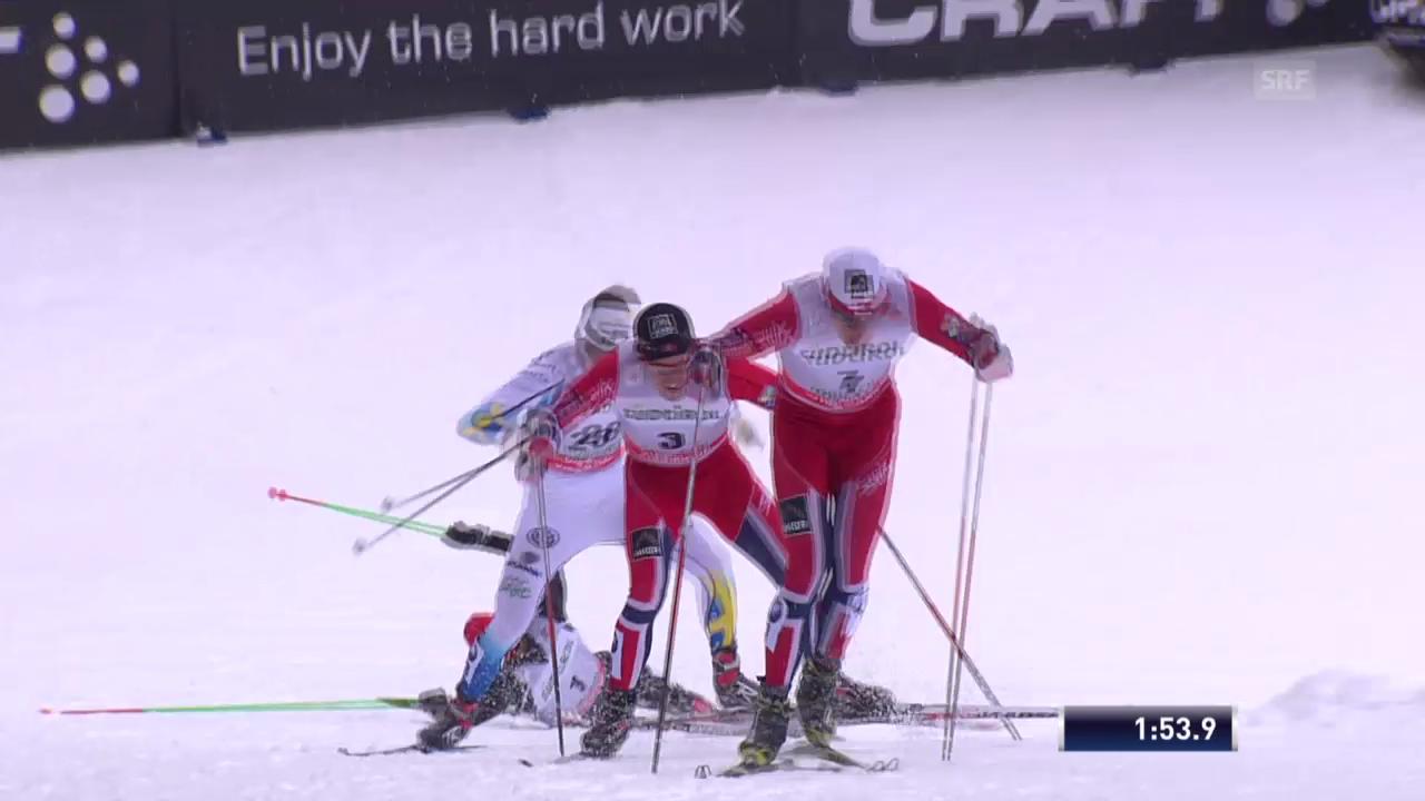 Langlauf: Sprint in Toblach («sportlive», 02.02.2014)