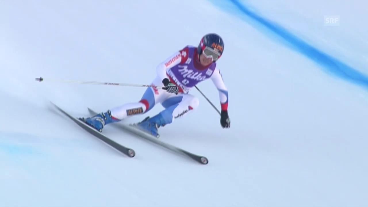 Ski: Kaufmann-Abderhalden siegt in Val d'Isère («sportlive», 21.12.2013)