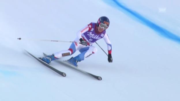 Video «Ski: Kaufmann-Abderhalden siegt in Val d'Isère («sportlive», 21.12.2013)» abspielen