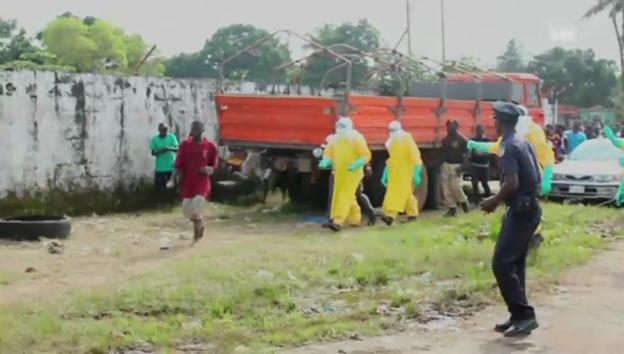 Video «Ebola-Patient sorgt für Unruhe» abspielen