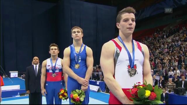 EM Moskau: Lucas Fischer holt Silber («sportpanorama»)